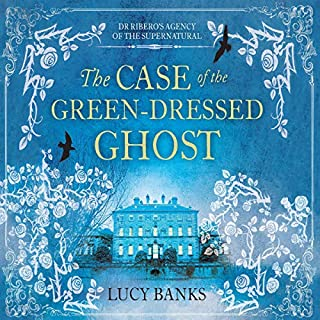 The Case of the Green-Dressed Ghost audiobook cover art