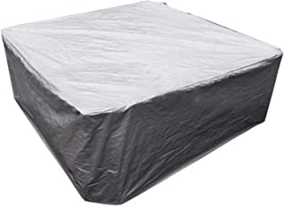 Hot Tub Cover Square,Outdoor Massage Pool Cover,Heavy Duty UV Resistant SPA Outdoor Hot Tub Cover,Various Specifications