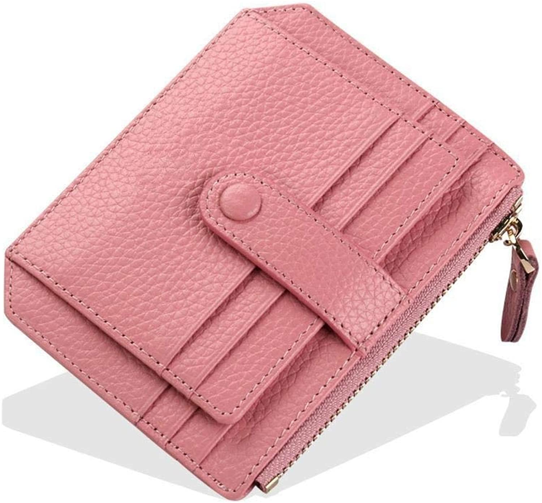 Girls Purse Women's Wallet,MultiCard PU Leather Card Bag Mini Wallet (color   B)