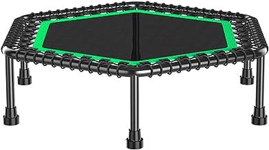 Indoor Fitness Trampoline, 40 Inch Mini Trampoline Oefening Trampoline Voor Volwassenen Fitness Rebounder Met Handvat Voor...