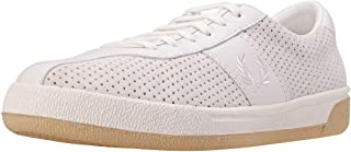 Fred Perry B1 Tennis Shoe Perf Mens Trainers Porcelain - 8 UK