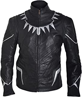 coolhides Men's Captain Blacky Fashion Leather Jacket