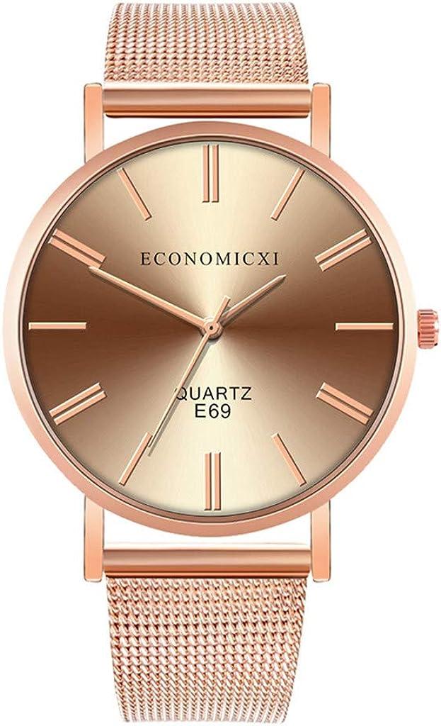 Moda Relojes Hombre Elegante Accesorio Mejor Regalo,Relojes De Pulsera De Cuarzo para Hombres Reloj De Correa De Malla De La Serie Casual Y Business Nueva 2020