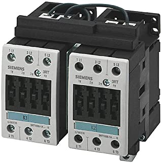 Siemens 3RA13 35-8XB30-1BB4 Motor Contactor Assembly, Fully Wired and Tested, DC Operation, S2 Size, 40A Maximum Inductive Current, 24VDC Rated Control Supply Voltage