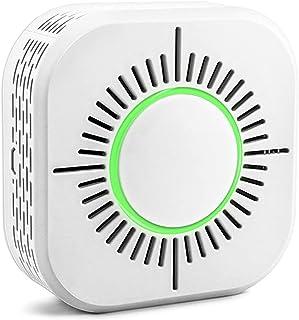 Explopur eWeLink Smoke Sensor Wireless 433MHz Fire Security Protection Alarm Sensor Work with RF Bridge APP Control Smart ...