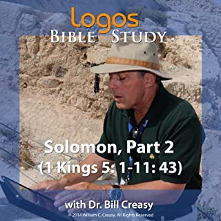 Solomon, Part 2 (1 Kings: 5: 1-11: 43) audiobook cover art