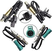 4 Oxygen O2 sensor 1 & 2 for 2009 2010 Ford F-150 5.4L 6.2L Upstream +Downstream