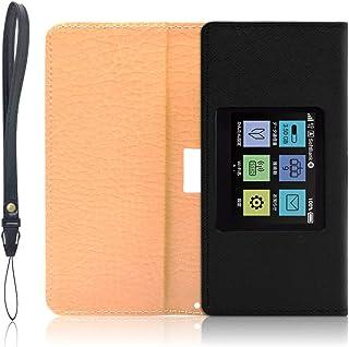 y!mobile(ワイモバイル) Pocket WiFi 801HW モバイルルーター ケース 保護 フィルム 付