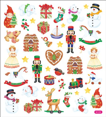 Tattoo King Multicolored Stickers-Christmas Toy Shop
