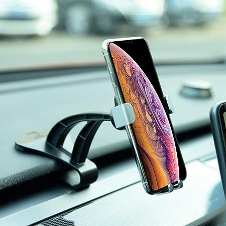 Custom Fit with Tesla Model 3 Car Phone Mount for Tesla Model 3 KFZMAN Model 3 Phone Holder Left Dashboard with 360 Degree Adjustable Joint