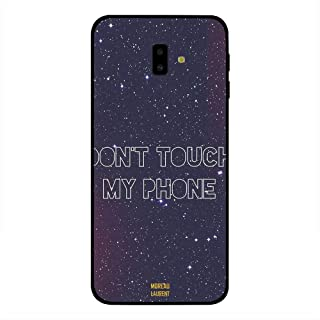 Samsung Galaxy J6 Plus Case Cover Dont Touch My Phone Stars Background