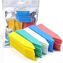 eZAKKA 500pcs 2 Inches Plastic Plant Labels Plant Nursery Garden Labels Stakes Pot Marker Plant Garden Tags, Multi-Color