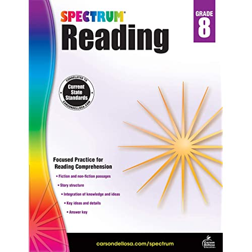 Reading Comprehension Grade 8: Amazon com