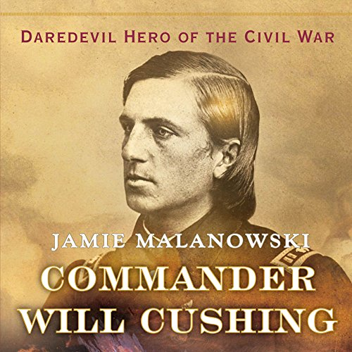 Commander Will Cushing audiobook cover art