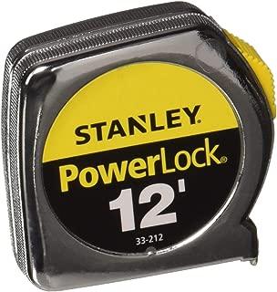Stanley Hand Tools 33-212 12' PowerLock Tape Measure With Stud Markings Every 16