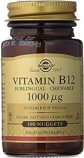 Solgar Vitamina B12, Comprimidos Masticables, Reduce el