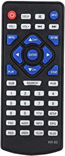 Tosuny Replacement DVB-T2 Digital TV Remote Control Smart Television Controller for LEADSTAR KR-50