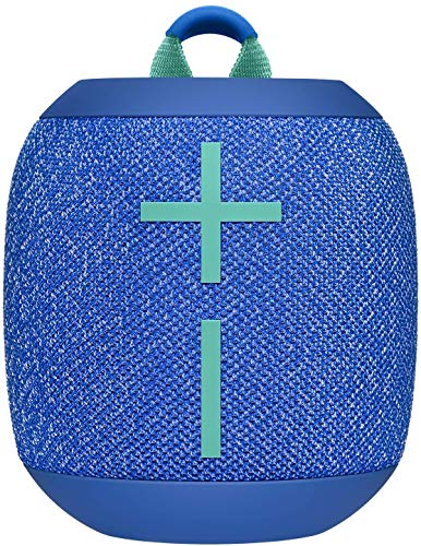 Logitech Ultimate Ears WONDERBOOM 2 Portable Waterproof Bluetooth Speaker - Wireless Boom Box - Non Retail Packaging (Bermuda Blue)