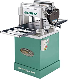 """Grizzly Industrial G1021Z - 15"""" 3 HP Planer w/Cabinet Stand"""