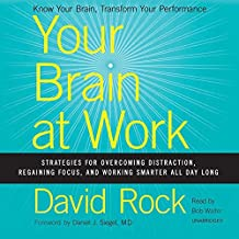 Your Brain at Work: Strategies for Overcoming Distraction, Regaining Focus, and Working Smarter All Day Long: Library Edition