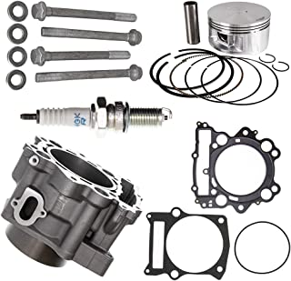 NICHE 102mm 686cc Big Bore Piston Cylinder Kit For 2001-2008 Yamaha Grizzly Raptor Rhino 660 660R 3YF-11181-00