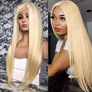 13x6 613 Lace Front Wig Human Hair Best Remy Glueless Full Lace Hair Pre Plucked Hair Line for Black Women with Baby Hair by Estelle Wig (18inch, lace front wig)