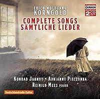Korngold:Complete Songs [Konrad Jarnot; Adrianne Pieczonka; Reinild Mees] [CAPRICCIO: C5252] by Konrad Jarnot