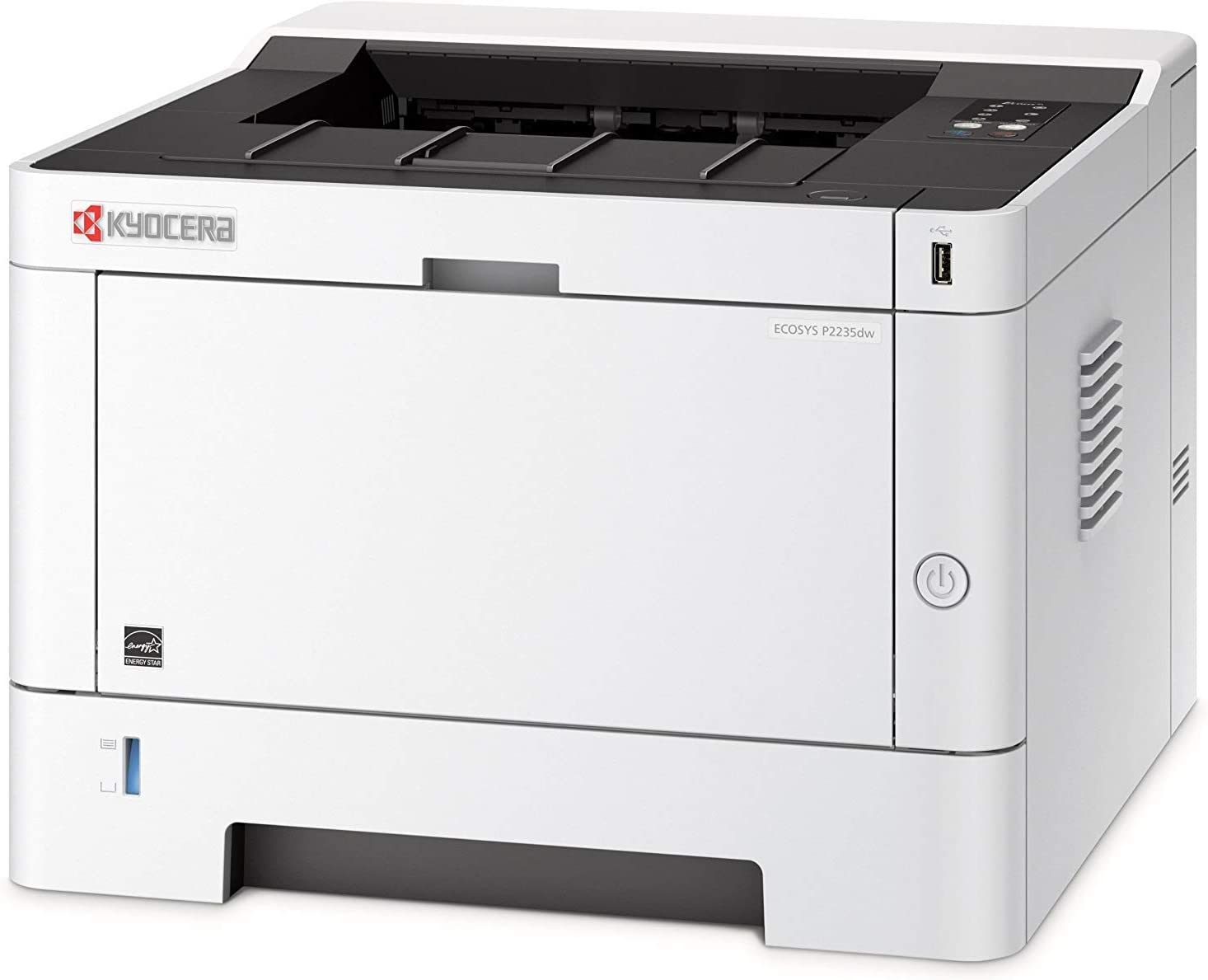 Kyocera Document Solutions ECOSYS-P2235dw Black and White Network Printer