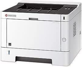 Kyocera 1102RW2US0 ECOSYS P2235dw Monochrome Network Laser Printer, 37 ppm B&W, 600 x 600 DPI Up To Fine 1200 DPI, Standard Stackless Duplex, Wireless and Wi-Fi Direct Capability, 256 MB Memory