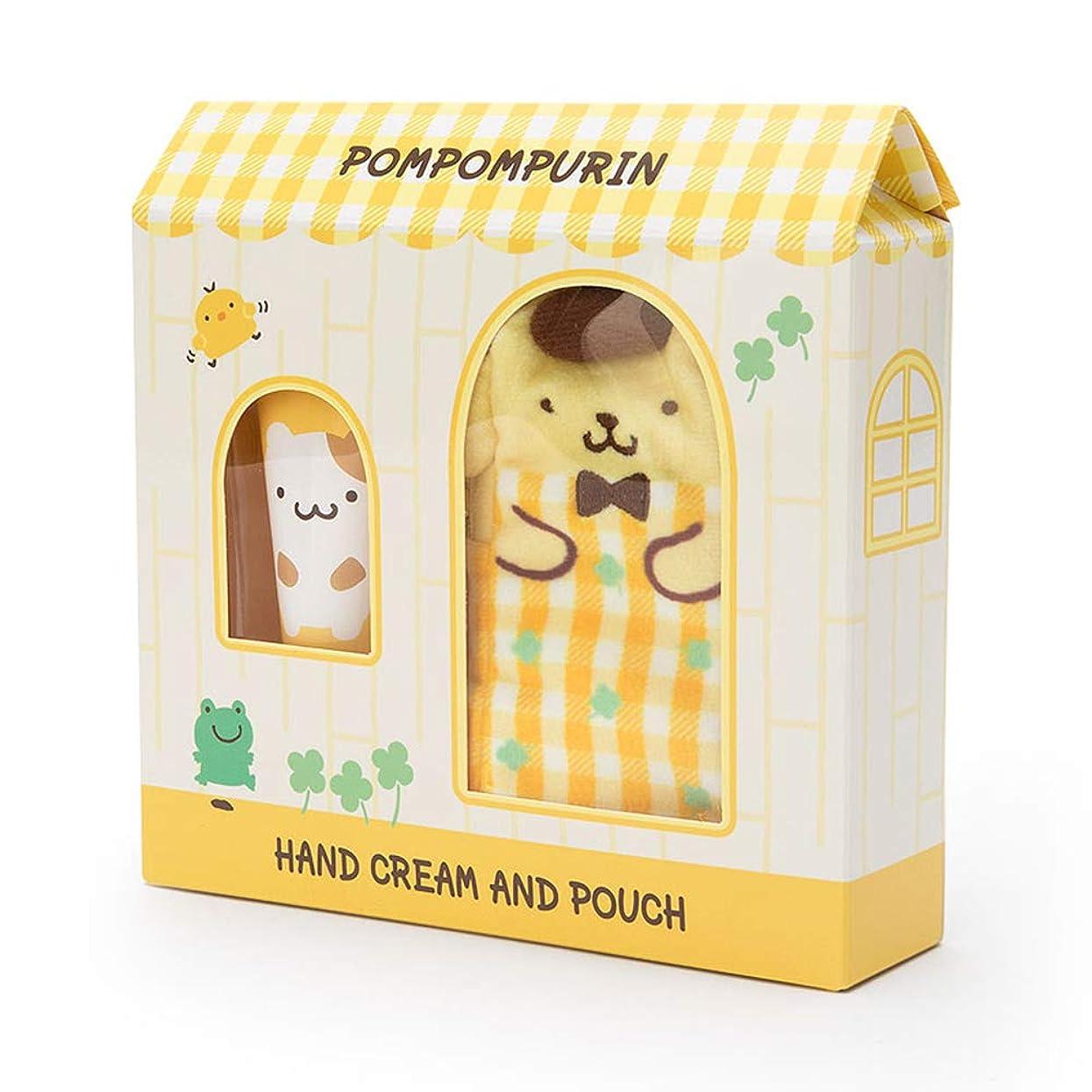 郵便どうやって耐えられるポムポムプリン プチポーチ付きハンドクリーム