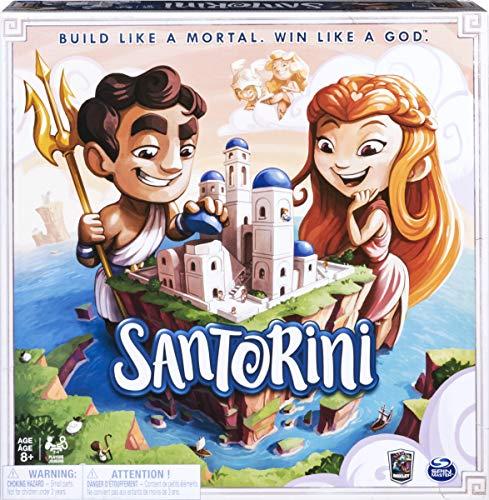 Spin Master Games Santorini - taktisches 3D-Brettspiel
