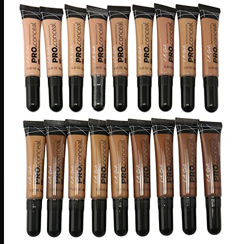 18 PC L.A. Girl Pro Conceal High Definition Concealer set of 18 color GC971-988