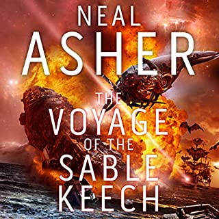 The Voyage of Sable Keech     The Spatterjay Series: Book 2              By:                                                                                                                                 Neal Asher                               Narrated by:                                                                                                                                 William Gaminara                      Length: 16 hrs and 47 mins     104 ratings     Overall 4.2