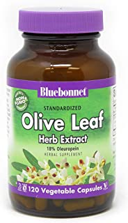 BlueBonnet Olive Leaf Extract Supplement, 120 Count