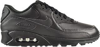 Nike Air Max 90 Leather Men's Shoes Black/Black 302519-001 (8.5 D(M) US)