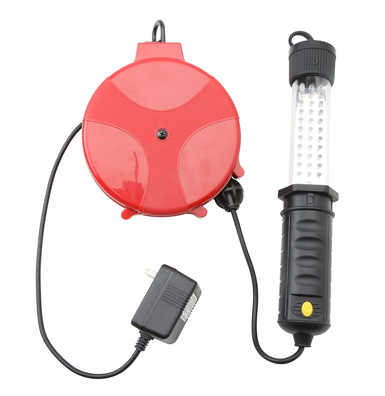 Woods 48066 33 LED Trouble Light with Retractable Cord Reel