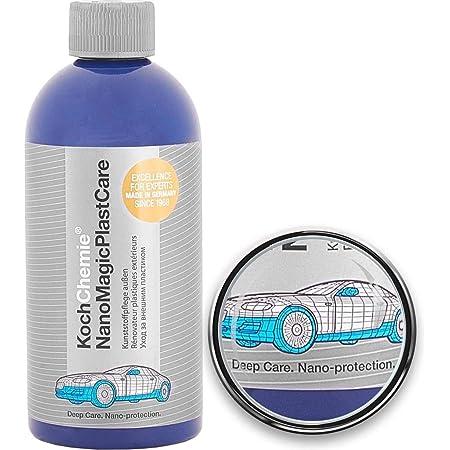 Koch Chemie Nano Magic Plast Care Kunststoffpflege 500 Ml 2x Schwamm 2x Tuch Auto