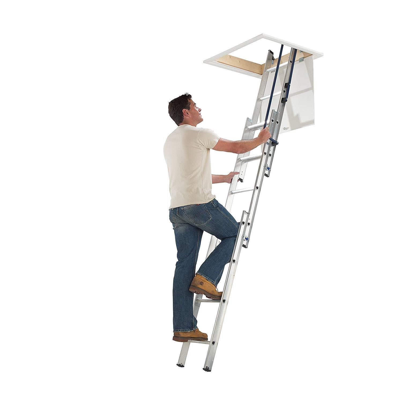 Blue Seal Easy Stow - Escalera para altillo, de aluminio, 3 secciones: Amazon.es: Bricolaje y herramientas