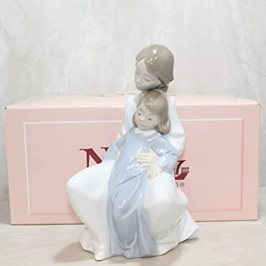 Nao by Lladro Collectible Porcelain Figurine: A MOMENT WITH