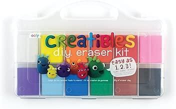 OOLY, Creatibles DIY Erasers, Set of 12 (161-001)