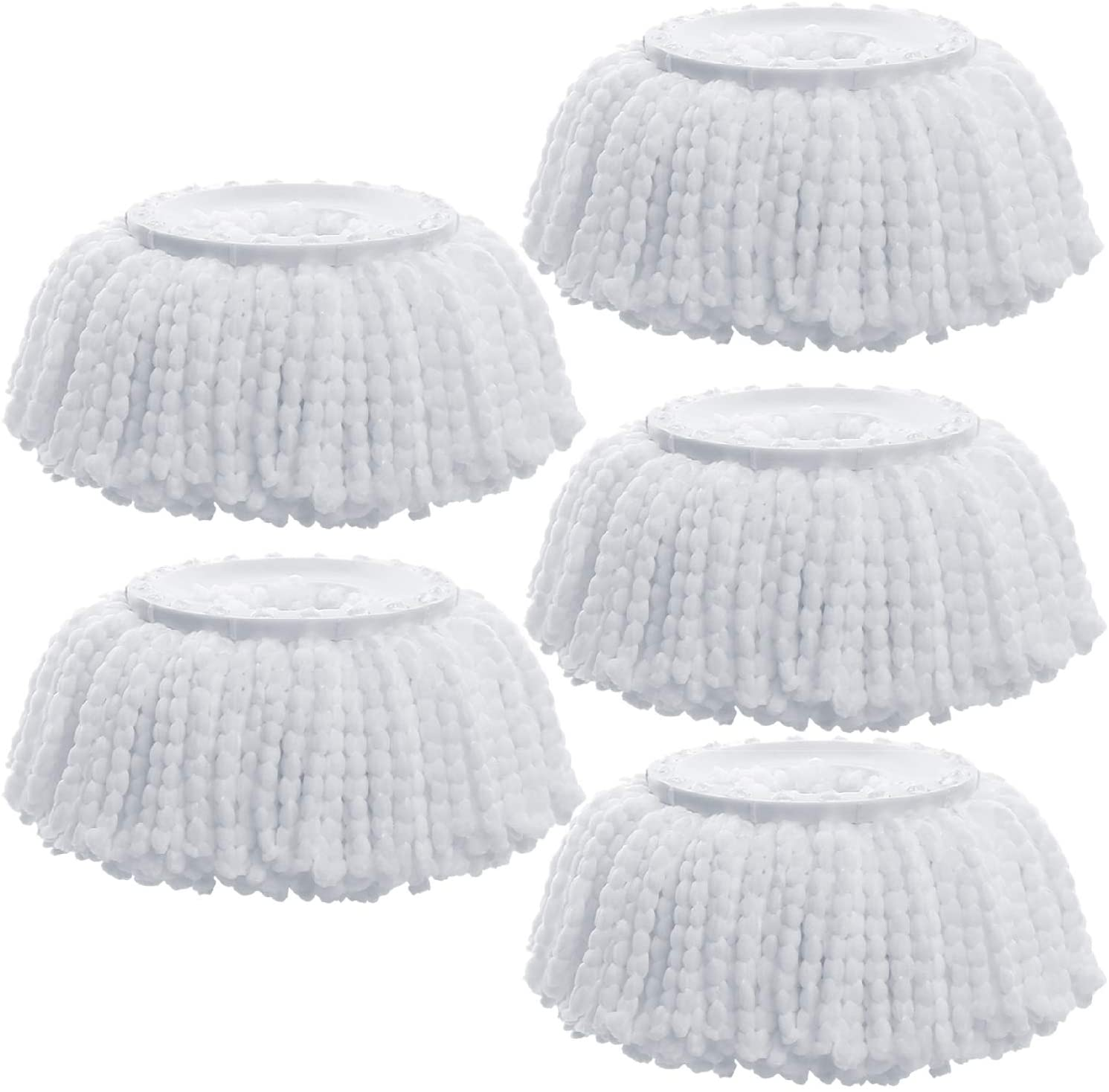 Amaou Microfiber Mop Heads Replacement New color set 5 of pack Wring Easy Free shipping