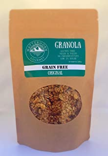 Granola Grain Free Paleo Vegan Gluten Free Low Sugar