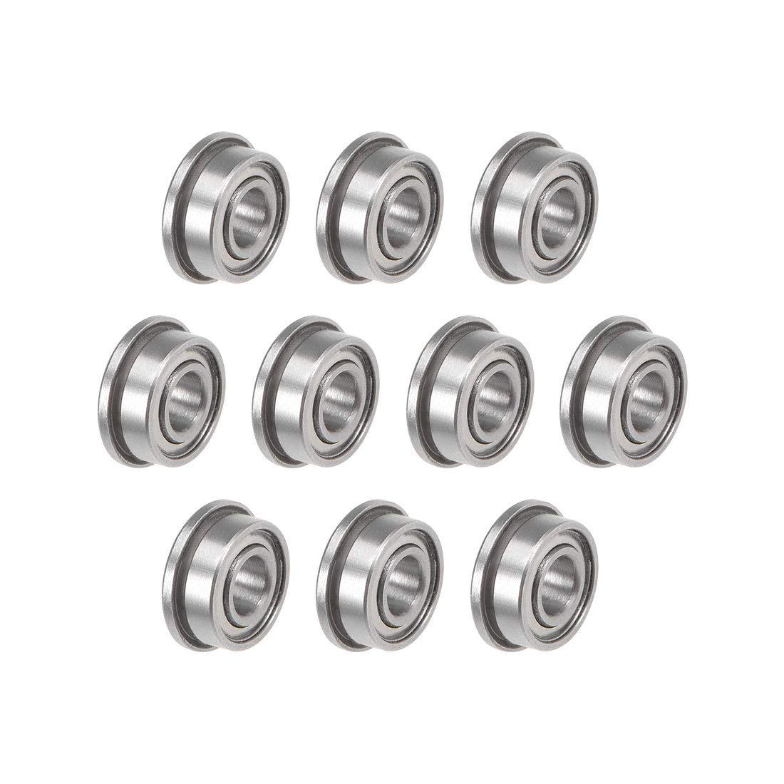 uxcell F683ZZ Flanged Ball Attention brand Bearing Shielded Steel Chrome 3x7x3mm SEAL limited product
