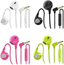 Headphones Heavy Bass Stereo Earphones Earbuds Noise Isolating Tangle Free Headsets CBGGQ in Ear Headphones with Remote & ...