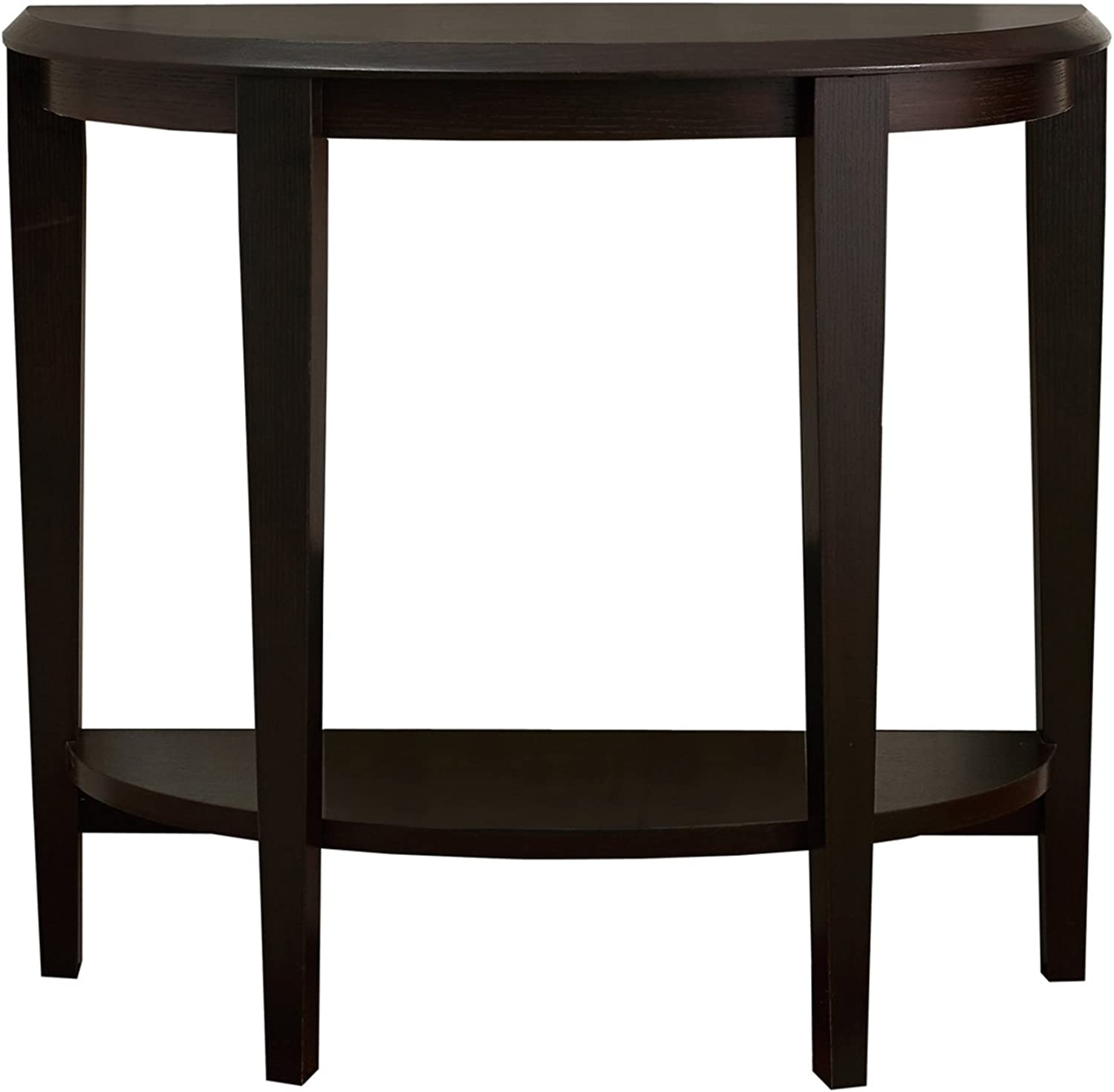 Monarch Specialties I 2450 Cappuccino Hall Console Accent Table, 36
