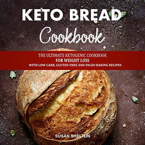 Keto Bread Cookbook cover art