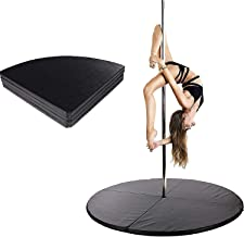 Paaldansen Crash Mat, 120 CM Paaldans Crash Mat, Veiligheidsmat Fitness Gymnastiek Dans Yoga Beginner Verdikte Bescherming...