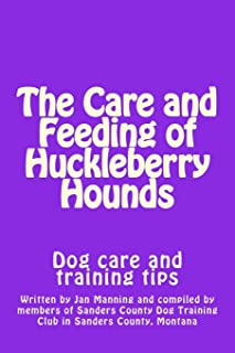 The Care and Feeding of Huckleberry Hounds: Dog care and training tips