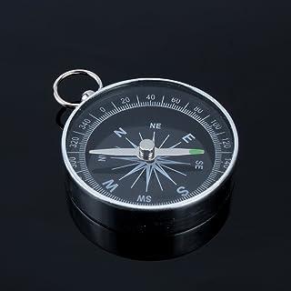 ポケットコンパス コンパス 方向指示 羅盤 旅行 方位磁石 キャンプ ハイキング用 磁気コンパス