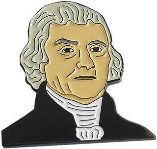 WizardPins President of The United States Thomas Jefferson Enamel Lapel Pin